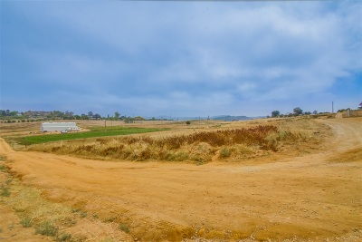 Valley Center CA Residential Lots & Land For Sale: $975,000