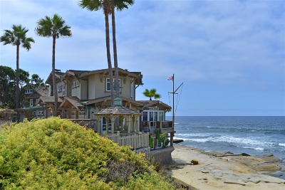La Jolla Single Family Home For Sale: 274 Coast Boulevard