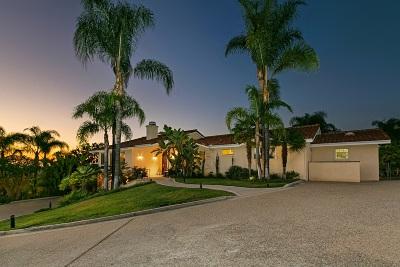 Escondido Single Family Home For Sale: 3279 White Hawk Road