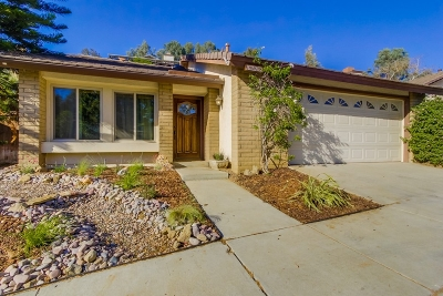 Escondido Single Family Home Sold: 1678 Madrone Glen