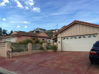 San Diego Single Family Home Contingent: 6166 Daisy