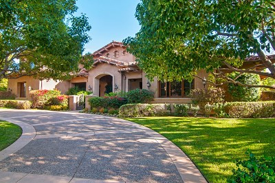 Rancho Santa Fe Single Family Home For Sale: 18451 Calle La Serra