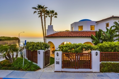 Single Family Home For Sale: 7400 Vista Del Mar
