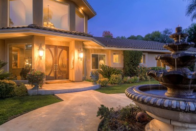 Bonsall CA Single Family Home For Sale: $1,947,000