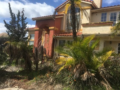 El Cajon Single Family Home Contingent