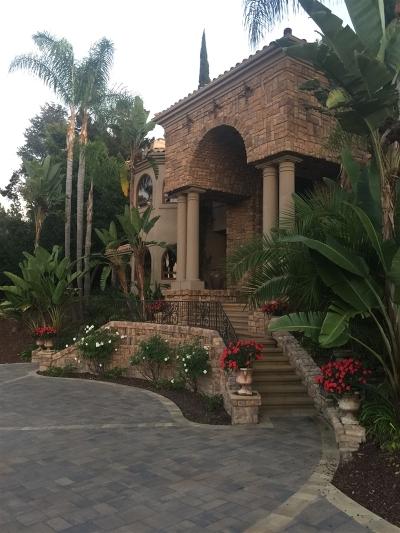 Fairbanks Ranch Single Family Home For Sale: 17949 Circa Oriente