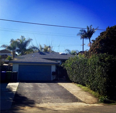 Oceanside Single Family Home For Sale: 2009 S Myers Street