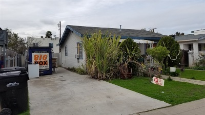 San Diego Multi Family 2-4 For Sale: 4114 46th Street