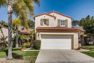 Carlsbad Single Family Home Sold: 3298 Rancho Famosa