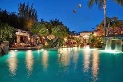 Rancho Santa Fe Single Family Home For Sale: 14750 Roxbury Terrace