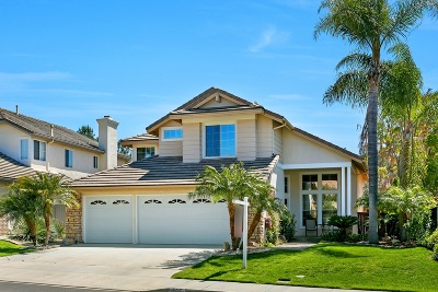San Marcos Single Family Home Sold: 727 Pebble Beach Dr.