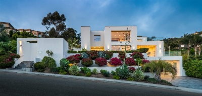 La Jolla Single Family Home For Sale: 7165 Fairway Road