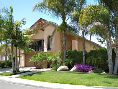 Rancho Santa Fe Single Family Home For Sale: 3942 Avenida Brisa