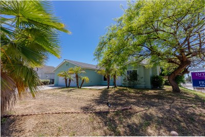 San Diego County Single Family Home Contingent: 474 Weisser Way