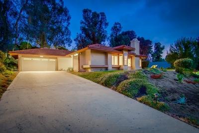Poway Single Family Home Sold: 17837 Saint Andrews Drive