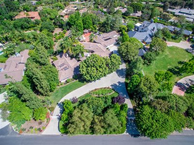 Rancho Santa Fe Single Family Home For Sale: 6011 Lago Lindo