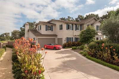 Encinitas Single Family Home For Sale: 851 Lynwood Dr