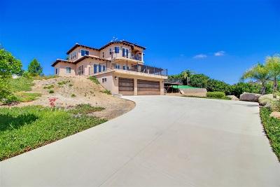 Escondido Single Family Home For Sale: 10530 Cerveza Dr
