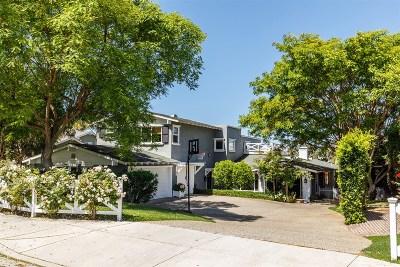 Encinitas Single Family Home For Sale: 1836 Sheridan Rd