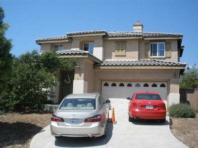 San Marcos Single Family Home Contingent: 821 Plumeria