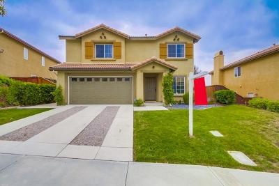 San Marcos Single Family Home For Sale: 842 Via La Venta