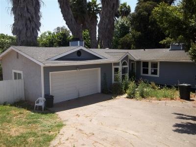 La Mesa Single Family Home Contingent