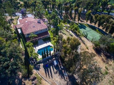 Rancho Santa Fe Single Family Home For Sale: Flores De Oro