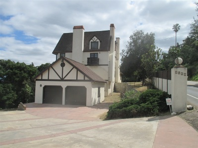 La Mesa Single Family Home For Sale: 9560 Fuerte Dr.