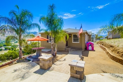 Lakeside Single Family Home For Sale