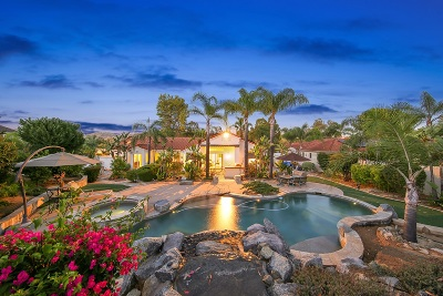 Poway Single Family Home For Sale: 15594 Riparian Rd