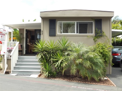 Mobile/Manufactured For Sale: 6550 Ponto Drive #93