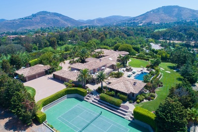 Rancho Santa Fe Single Family Home For Sale: 6682 Las Arboledas