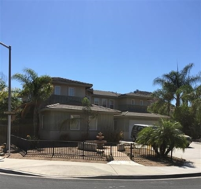 Poway Single Family Home Contingent: 13513 Kentfield Ct