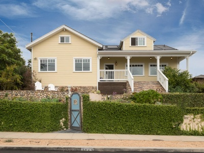 Sunset Cliffs Single Family Home For Sale: 1045 Sorrento