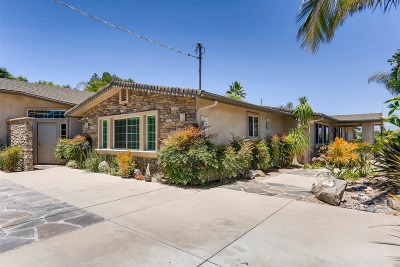 Escondido Single Family Home For Sale: 1414 Kona Kai Lane