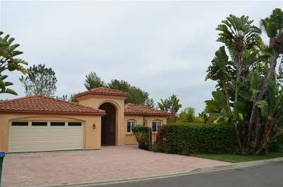 Carlsbad Single Family Home For Sale: 7086 Estrella De Mar Rd