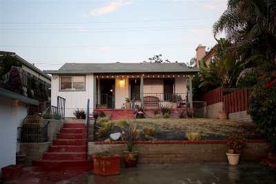 Single Family Home For Sale: 716 Castro Street