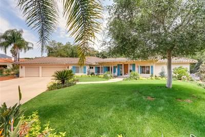 Vista Single Family Home For Sale: 1581 Calle Las Moras