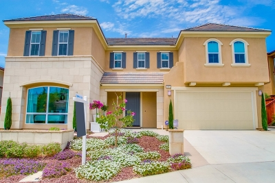 San Marcos Single Family Home Contingent: 957 Tucana Dr