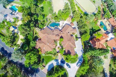 Rancho Santa Fe CA Single Family Home For Sale: $4,080,000
