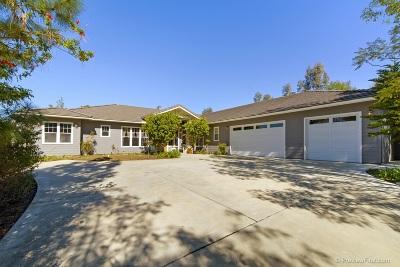 Single Family Home For Sale: 18380 Bernardo Trails Drive