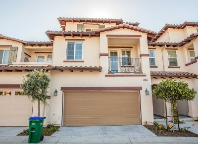 Carlsbad Townhouse For Sale: 6905 Tourmaline Pl