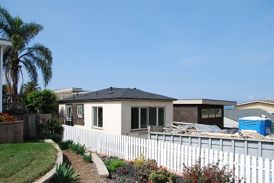 Ocean Beach, Ocean Beach/Point Loma, Ocean Obeach Single Family Home For Sale: 4651 Orchard Avenue