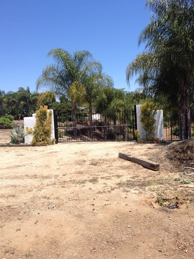 Fallbrook Residential Lots & Land For Sale: 2360 Paige Circle #1