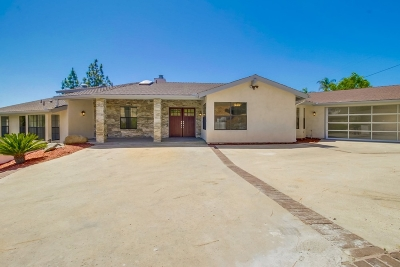 el cajon Single Family Home For Sale: 1524 Vista Vereda
