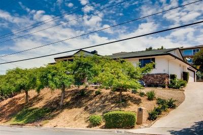 Del Cerro, Del Cerro Heights, Del Cerro Highlands, Del Cerro Terrace Single Family Home For Sale: 6550 Dwane Ave