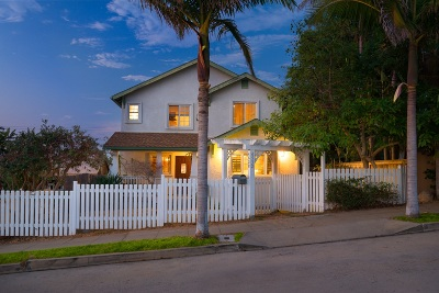 Ocean Beach, Ocean Beach/Point Loma, Ocean Obeach Single Family Home For Sale: 4532 Brighton Avenue