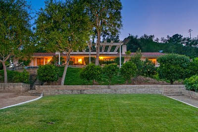 Escondido Single Family Home For Sale: 709 Quiet Hills Farm Rd