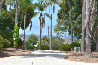 Carlsbad Residential Lots & Land For Sale: 2916/2924 Highland Plus 3 Vacant Lots #1, 2, 3