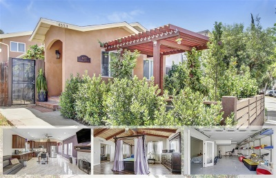Norma Heights, Normal Heights Single Family Home For Sale: 4553 35th St.